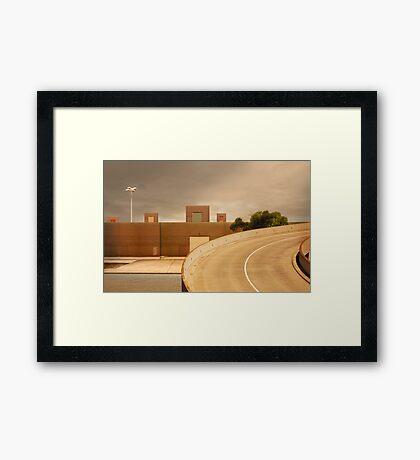 factory expressway Framed Print