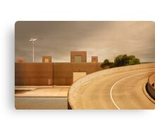 factory expressway Canvas Print