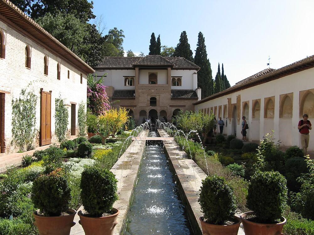 Generalife, Granada by Killjoy