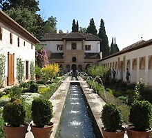 Generalife, Granada by Killjoy