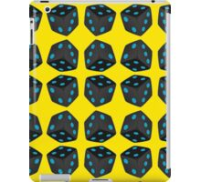 DICE 6-BLUE iPad Case/Skin