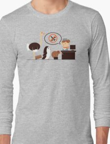The No-Fly List Long Sleeve T-Shirt