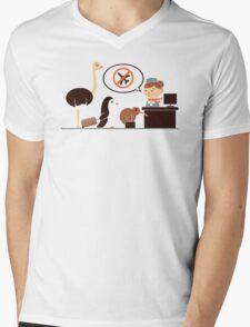The No-Fly List Mens V-Neck T-Shirt