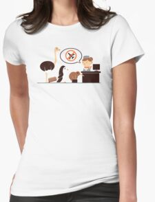 The No-Fly List Womens Fitted T-Shirt