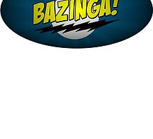 The Big Bang Theory - Bazinga by mikecool