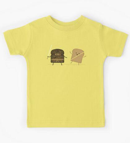 Ninja Toast Kids Tee