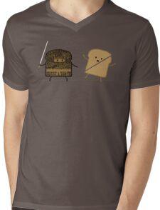 Ninja Toast Mens V-Neck T-Shirt