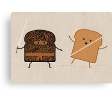 Ninja Toast Canvas Print