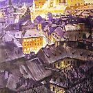 Prague Mala Strana  Night Light  by Yuriy Shevchuk