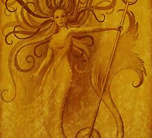 Gold Siren by Ivy Izzard