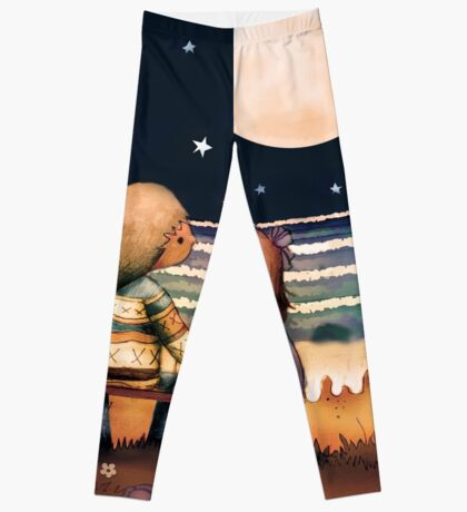 the stars, the moon and the tide Leggings