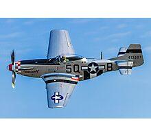 "P-51D Mustang 44-13521/5Q-B G-MRLL ""Marinell"" Photographic Print"