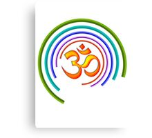Colors of OM Canvas Print
