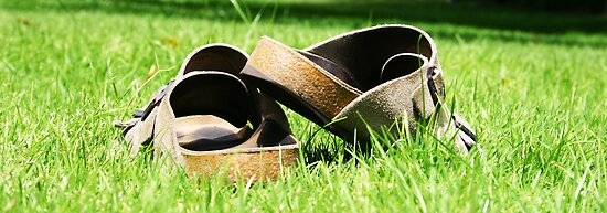 Sunbake Sandals by Chris Mander