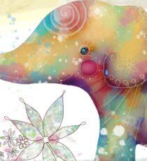 The Indigo Elephant Sticker