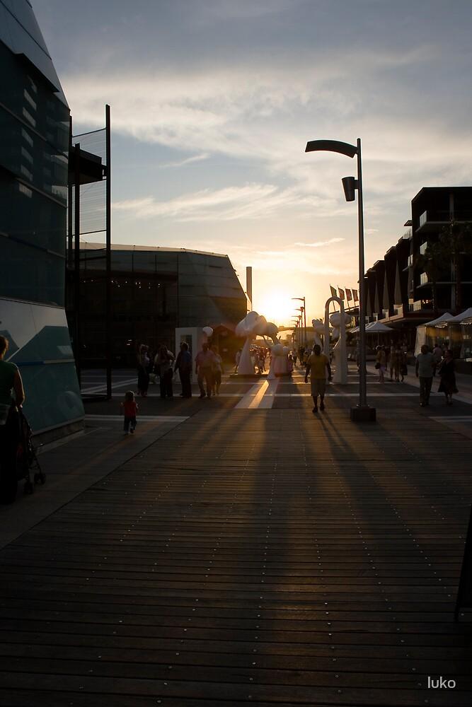 docklands summer by luko