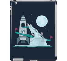 Penguin Space Race iPad Case/Skin