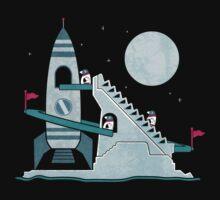 Penguin Space Race Kids Tee