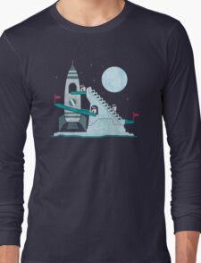 Penguin Space Race Long Sleeve T-Shirt
