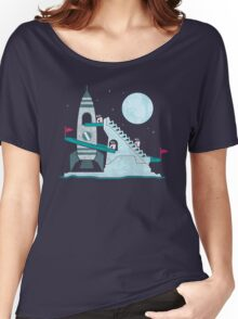 Penguin Space Race Women's Relaxed Fit T-Shirt