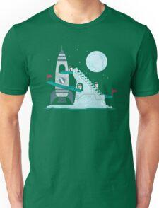 Penguin Space Race Unisex T-Shirt