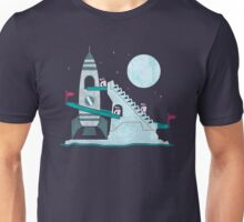 Penguin Space Race Unisex T-Shirt