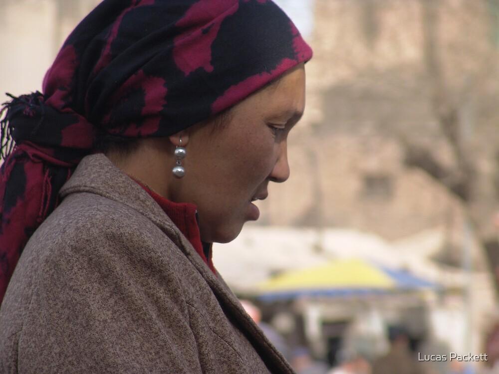 Kashgar, Uyghur Woman by Lucas Packett