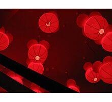 Red Velvet Moons Photographic Print