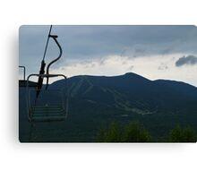 Vintage Ski Chairlift Canvas Print