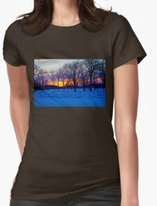 SCENIC SNOW SUNSET T-Shirt