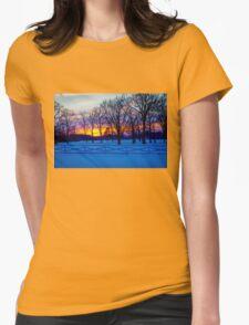 SCENIC SNOW SUNSET T-Shirt