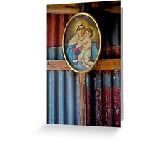 $5 Madonna in a shed-Megalong Valley Greeting Card