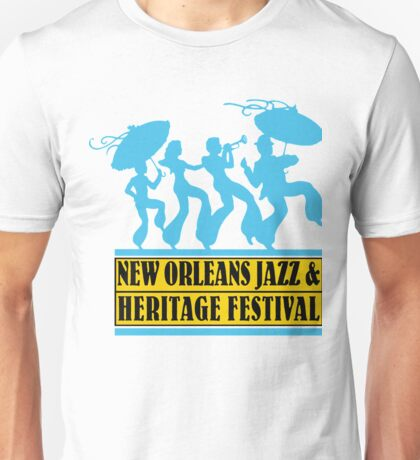 CRA2 New Orleans Jazz and Heritage Festival 2017 Unisex T-Shirt