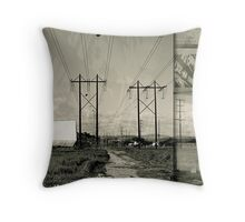 Drive-in Saturday Throw Pillow