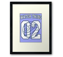 Water Tribe Jersey #02 Framed Print