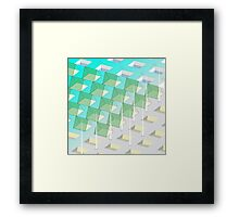 Triangle Pavilion Framed Print