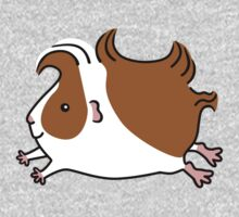 Leaping Guinea-pig ...Brown and White Kids Clothes