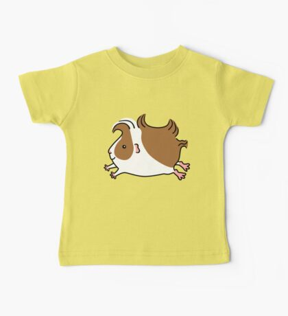 Leaping Guinea-pig ...Brown and White Baby Tee