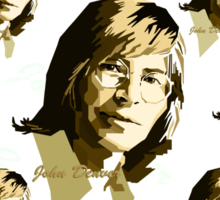 John Denver [Brown] #2 Sticker