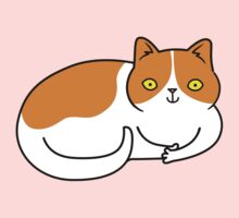Special Cat... Ginger and White One Piece - Short Sleeve