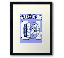 Water Tribe Jersey #04 Framed Print