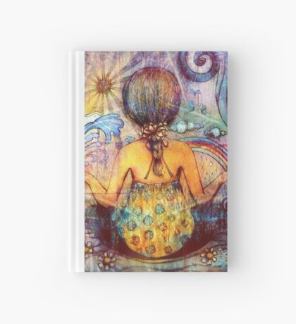 Rainbow Meditation Hardcover Journal