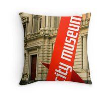 City Museum Throw Pillow