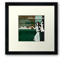 Cocktail bar Framed Print