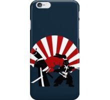 Samurai in the sun iPhone Case/Skin