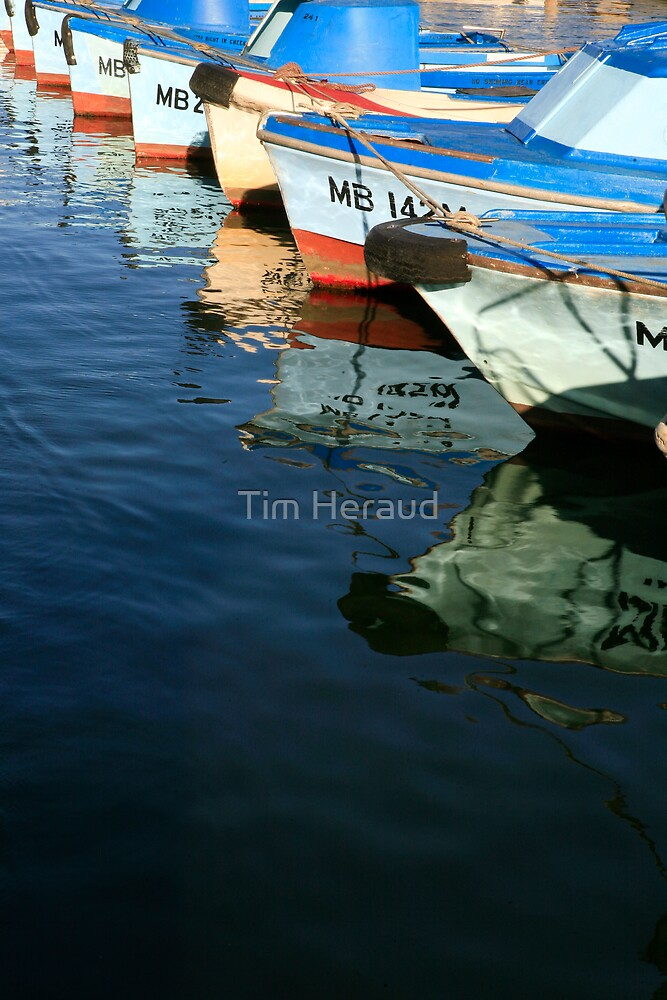 Row, Row, Row of Boats by Tim Heraud