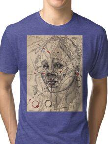 Glitch 10 Tri-blend T-Shirt