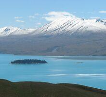 NZ-BLUE WATER by Temba Van Jaarsveld