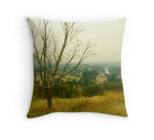 Where's There's Smoke, There's a Bloody Big Bushfire. Throw Pillow