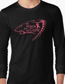 Florida Tech Formula Panther (Hot Pink.0 NBCF Logo) Long Sleeve T-Shirt